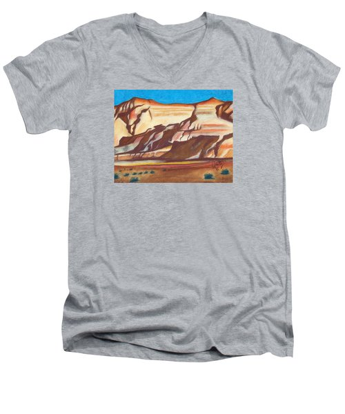 Nm Az Border Men's V-Neck T-Shirt