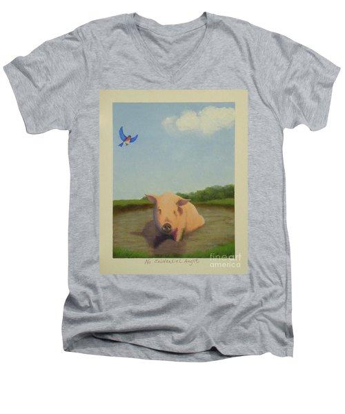 No Existential Angst Men's V-Neck T-Shirt