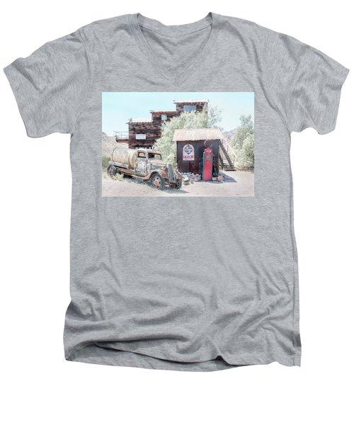 No Gas Today Men's V-Neck T-Shirt