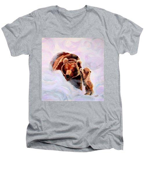 No Mama Men's V-Neck T-Shirt