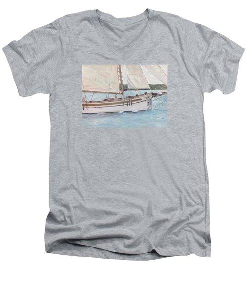 Bugeye Men's V-Neck T-Shirt by Stan Tenney
