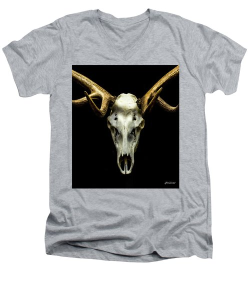 No One Gets Out Alive Men's V-Neck T-Shirt