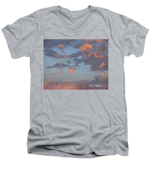 No Tears In Heaven Men's V-Neck T-Shirt