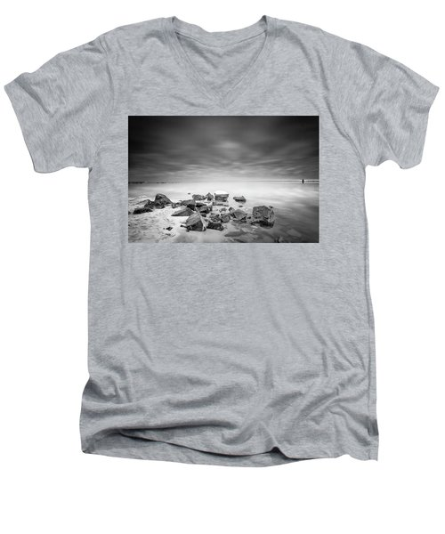 No Time For What If's Men's V-Neck T-Shirt