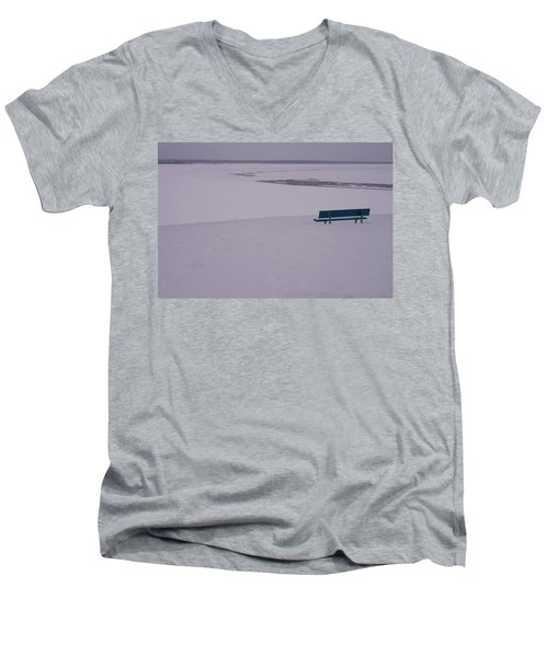 No Viene Nadie... Men's V-Neck T-Shirt
