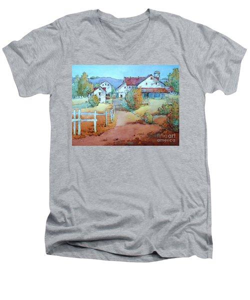 No Work On Sunday Men's V-Neck T-Shirt