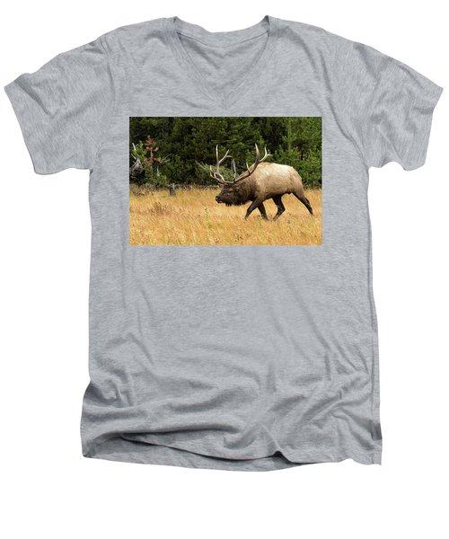 No You Don't Men's V-Neck T-Shirt