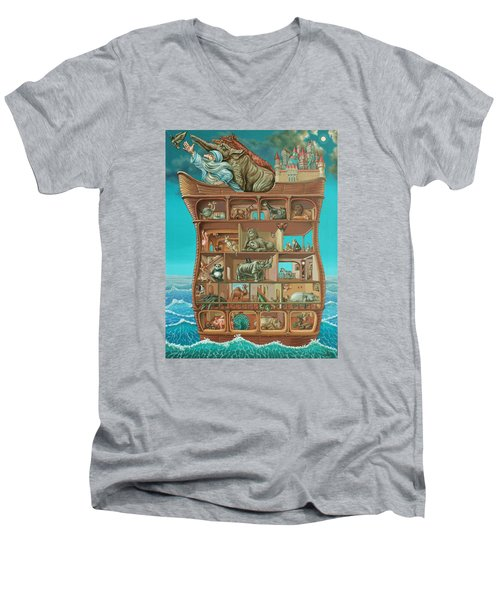 Noahs Arc Men's V-Neck T-Shirt