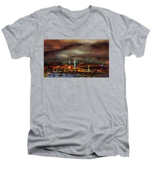 Nocturnal Impression Men's V-Neck T-Shirt