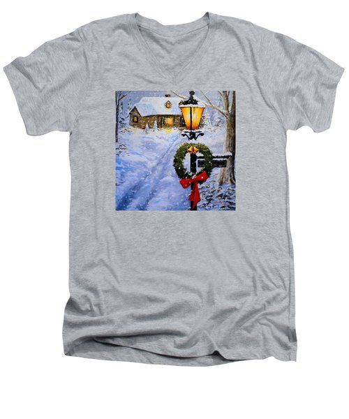 Noel Men's V-Neck T-Shirt
