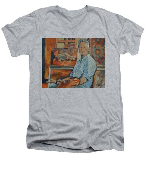 Nop Briex Self Portrait Men's V-Neck T-Shirt