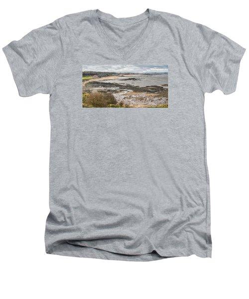 North Berwick, East Lothian Men's V-Neck T-Shirt