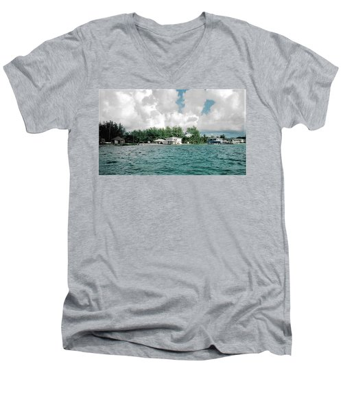 North Bimini Airport Men's V-Neck T-Shirt