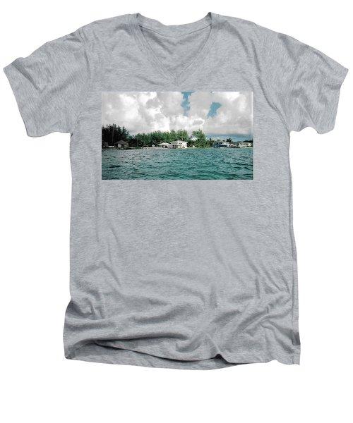 North Bimini Airport Men's V-Neck T-Shirt