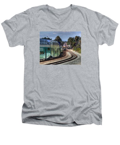 North Bound Men's V-Neck T-Shirt