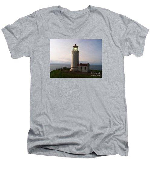 North Head Light Men's V-Neck T-Shirt