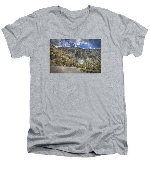 North Lake Road Men's V-Neck T-Shirt
