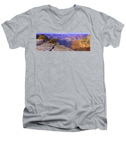 North Rim Grand Canyon Men's V-Neck T-Shirt