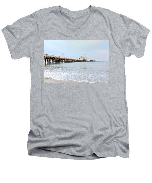 North Side Stearn's Wharf Men's V-Neck T-Shirt