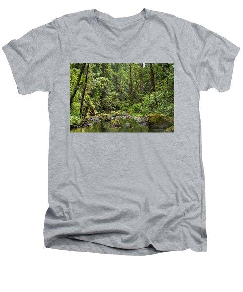 North Souixon Creek Men's V-Neck T-Shirt