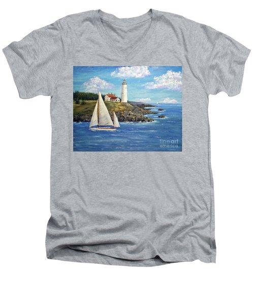 Northeast Coast Men's V-Neck T-Shirt