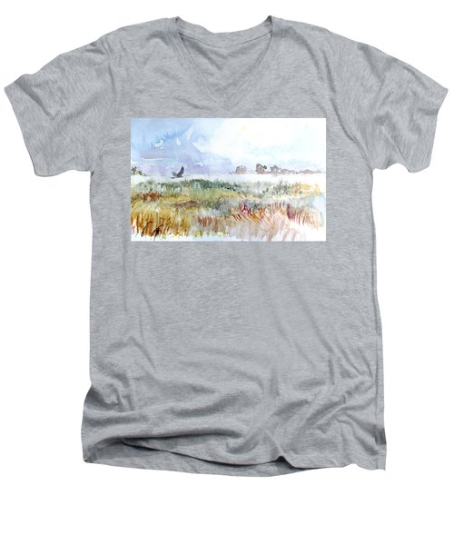 Northern Harrier Men's V-Neck T-Shirt