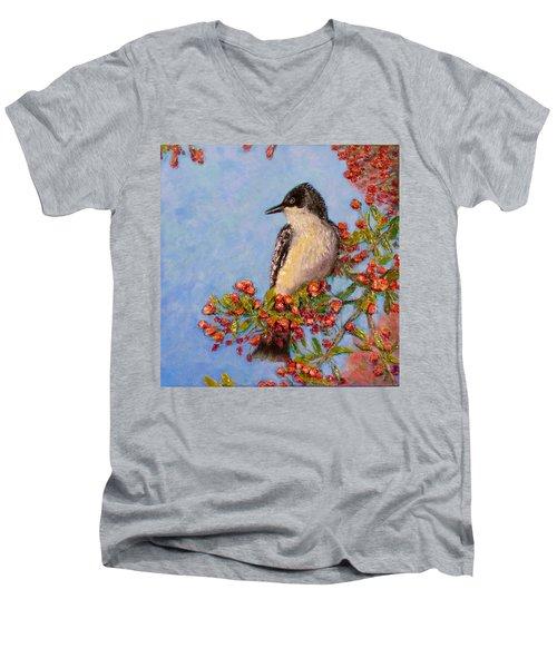 Northern King Bird  Men's V-Neck T-Shirt