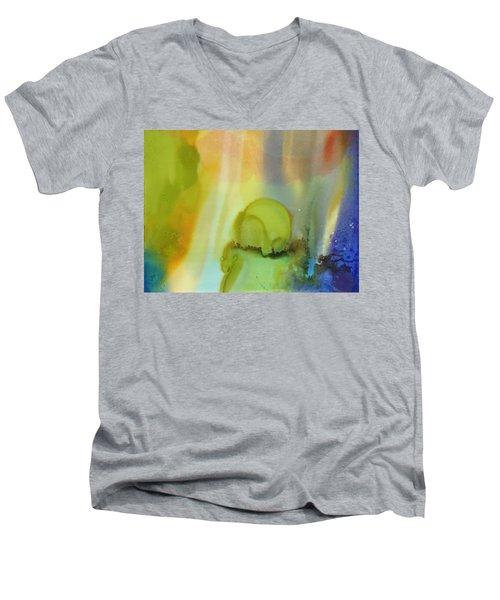 Northern Light # 2 Men's V-Neck T-Shirt