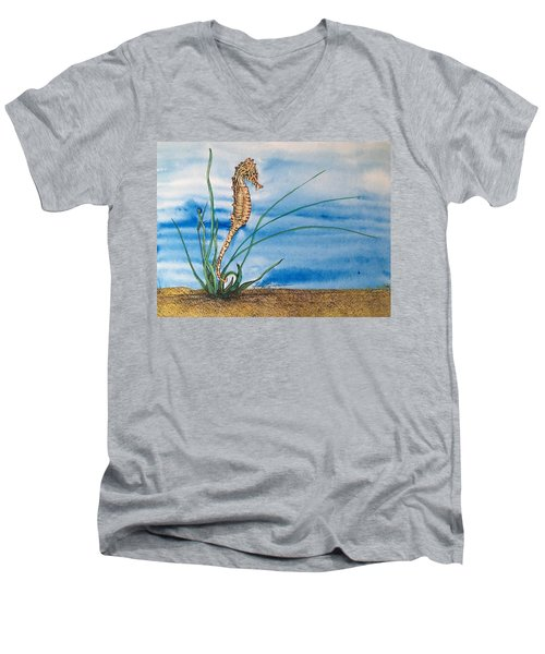 Northern Seahorse Men's V-Neck T-Shirt