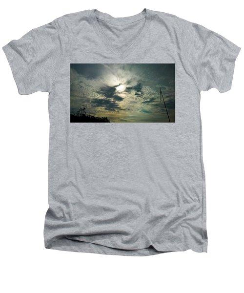 Northern Sky Men's V-Neck T-Shirt