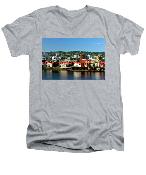 Northwest Portland Men's V-Neck T-Shirt