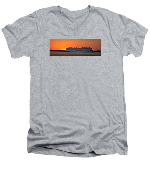 Norwegian Breakaway Men's V-Neck T-Shirt by Kenneth Cole