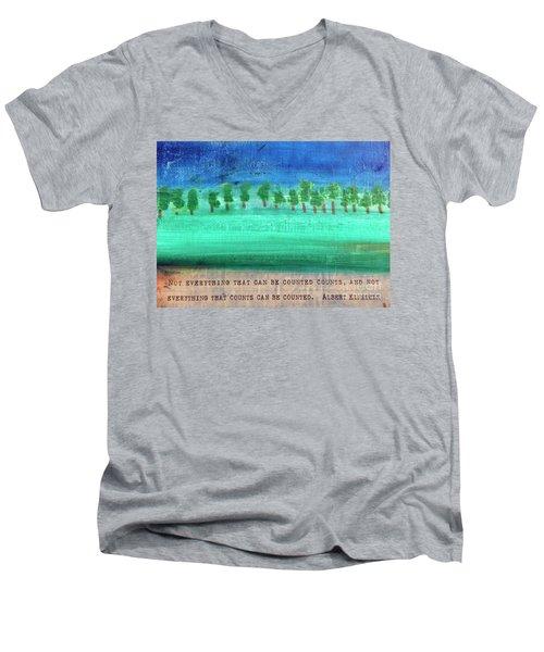Not Everything Men's V-Neck T-Shirt