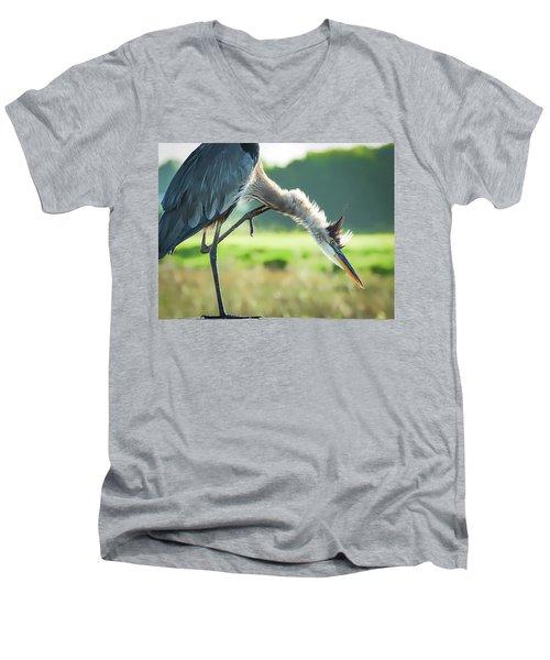 Nothing Like A Good Scratch Men's V-Neck T-Shirt