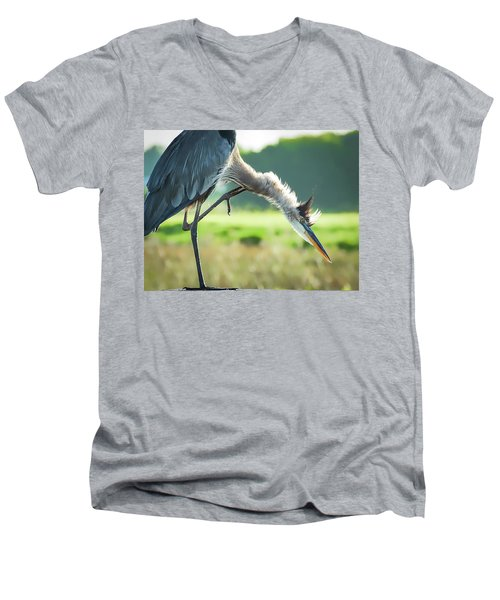 Nothing Like A Good Scratch Men's V-Neck T-Shirt