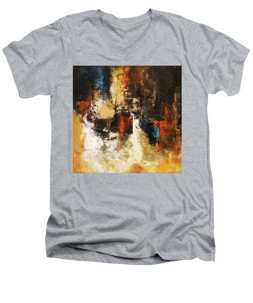 November Evening 1 Men's V-Neck T-Shirt