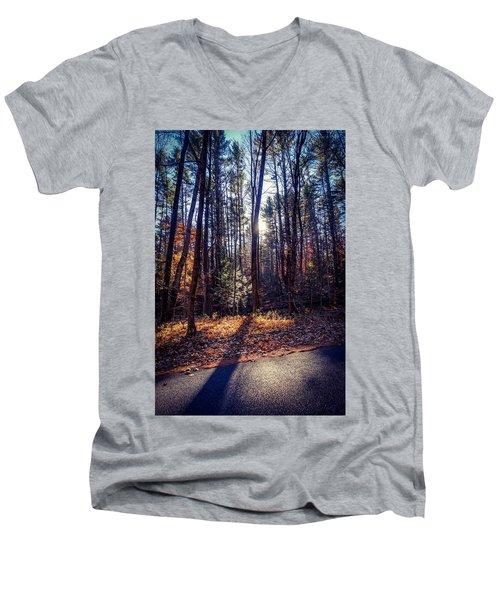 November Light Men's V-Neck T-Shirt