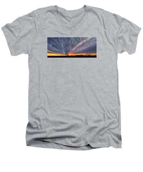 November Magic Men's V-Neck T-Shirt