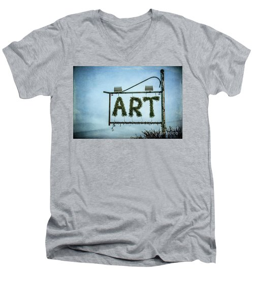 Now This Is Art Men's V-Neck T-Shirt