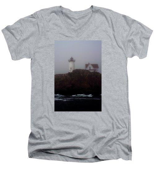 Fog Lifting Men's V-Neck T-Shirt