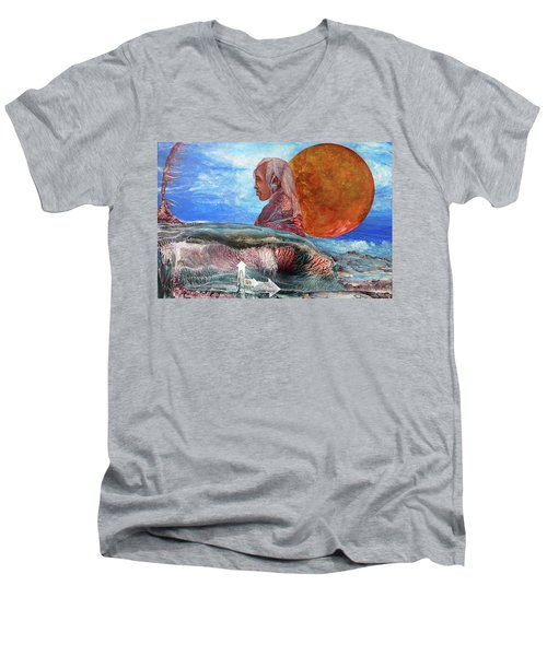 Nubian Dream  Men's V-Neck T-Shirt
