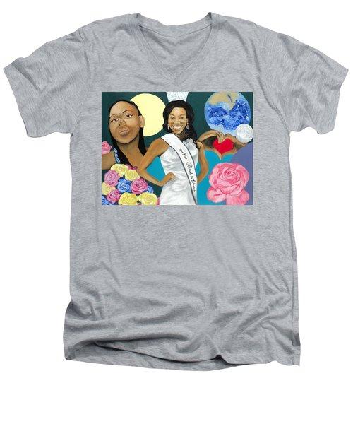 Nubian Princess Men's V-Neck T-Shirt