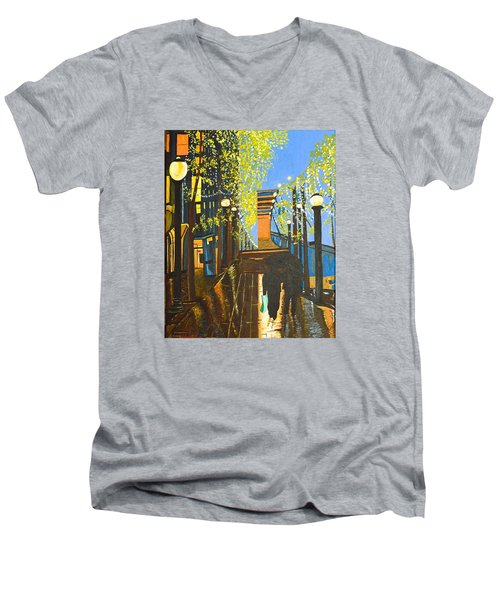 Nuit De Pluie Men's V-Neck T-Shirt