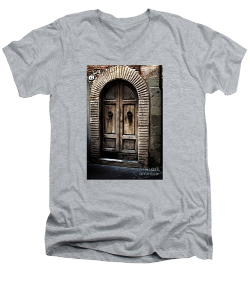 Number 13 Men's V-Neck T-Shirt