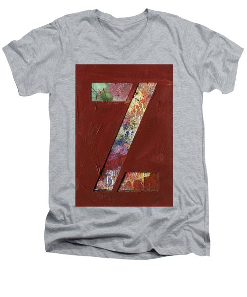 The Letter Z Men's V-Neck T-Shirt