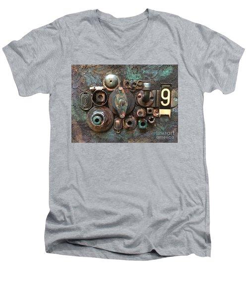 Number 9 Men's V-Neck T-Shirt