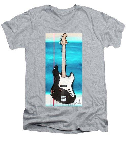 Number One Men's V-Neck T-Shirt