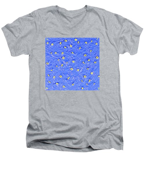 Nuts And Bolts Men's V-Neck T-Shirt by Thomas Blood