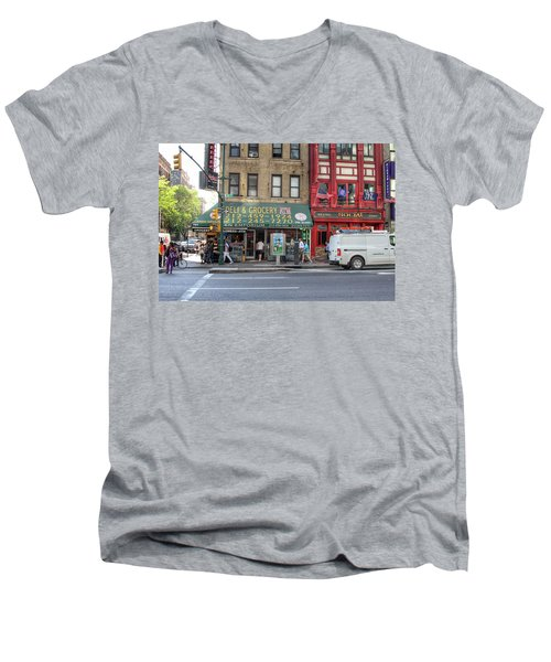 Nyc Deli And Grocery  Men's V-Neck T-Shirt