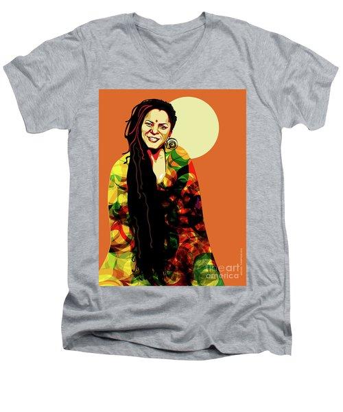 O' Fania Men's V-Neck T-Shirt